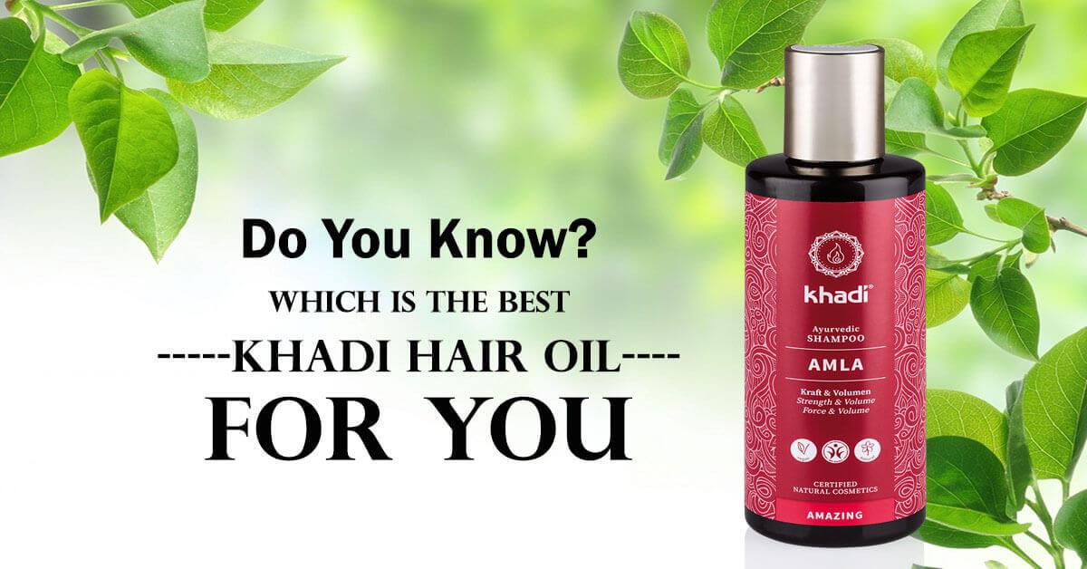 best khadi hair oil for dandruff